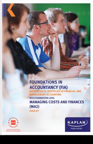 MA2 Managing Costs & Finances