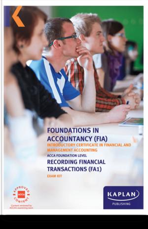 FA1 Recording Financial Transactions