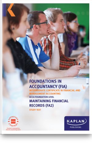 FA2 Maintaining Financial Records