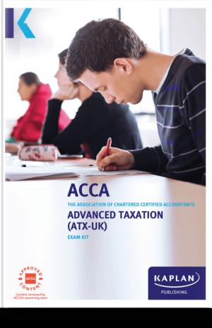 Advanced Taxation (ATX – UK) FA18