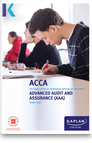 Advanced Audit and Assurance (AAA-INT/UK)