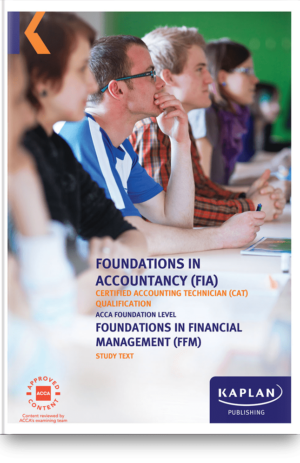 FFM Foundations in Financial Managment